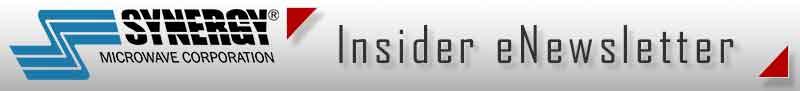 Synergy Microwave Insider Newsletter